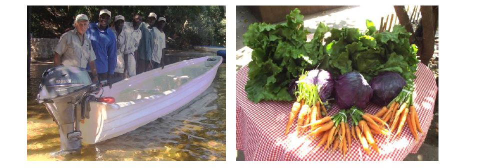Boat Donation and Fresh Produce