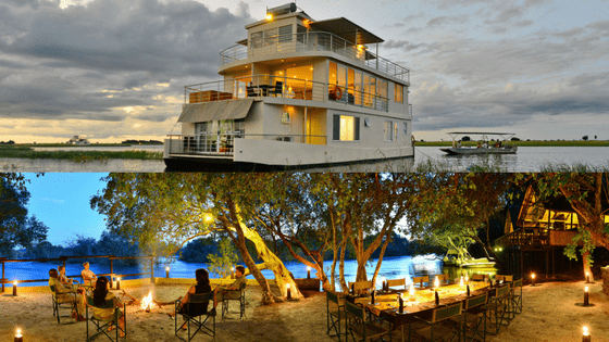 Chobe Princess and Ichingo Chobe River Lodge