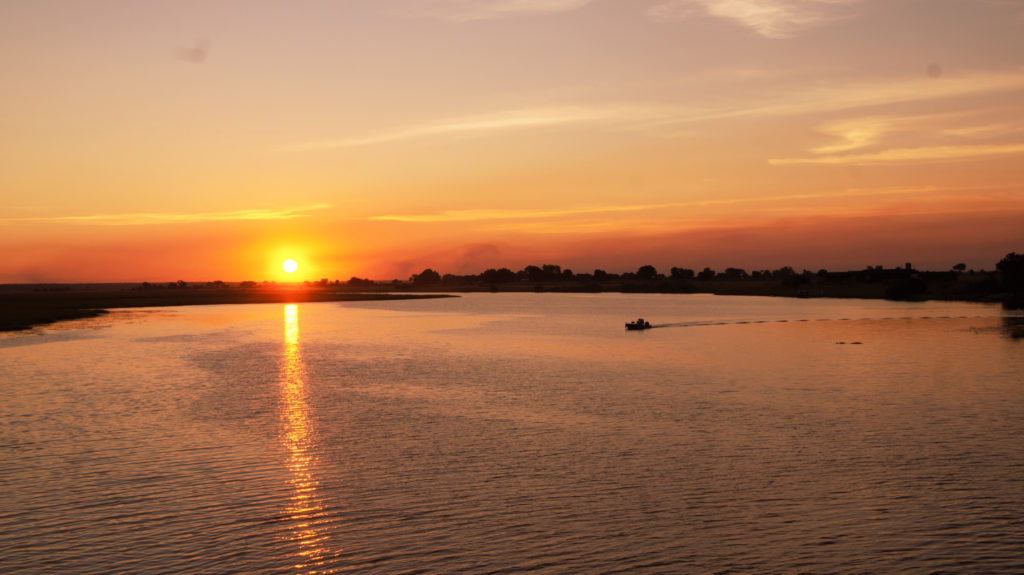 Chobe River cruising