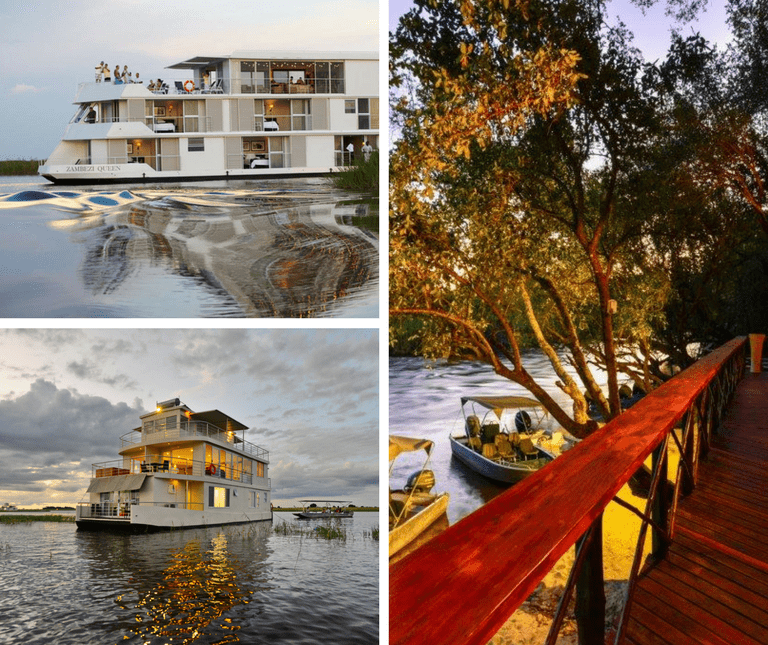 Chobe River Cruise and Ichingo Chobe River Lodge
