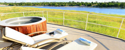 River and land safari combination package