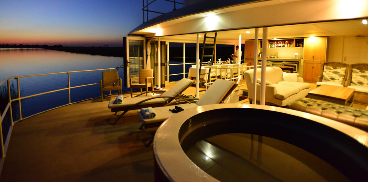 Chobe Princess Sunset Deck Small