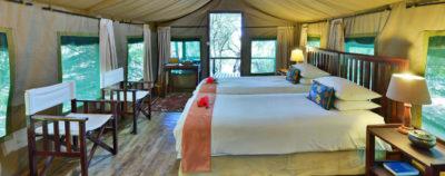 Ichingo Chobe River Lodge Tent Interior
