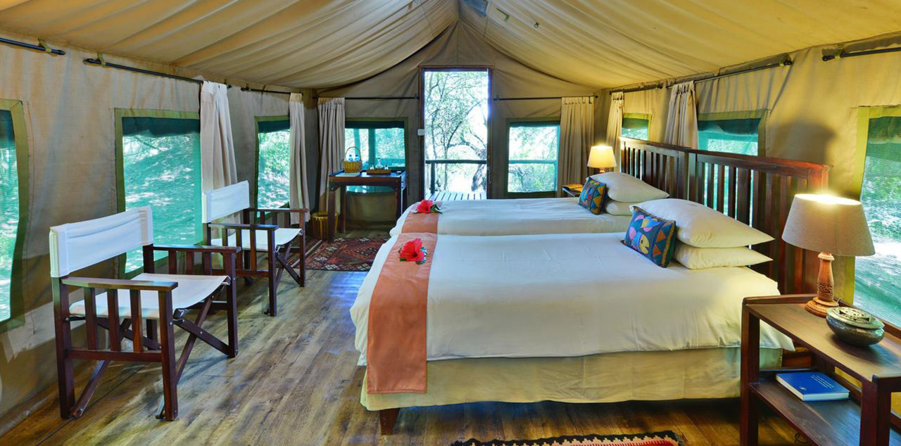 Ichingo Chobe River Lodge Tent Interior