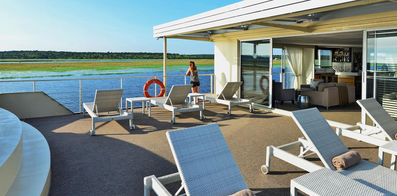 Zambezi Queen Pool Deck