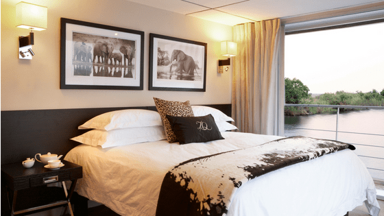 Zambezi Queen Standard Suite