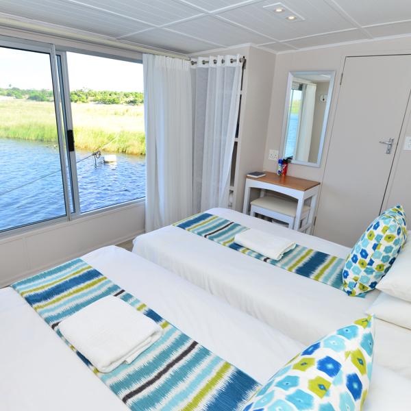 Chobe Princess Blue Bedroom