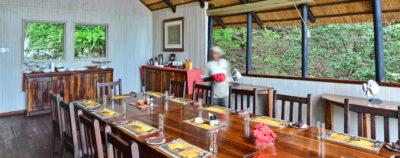 Ichingo Chobe River Lodge Dining Area