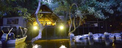 Ichingo Chobe River Lodge River Mooring