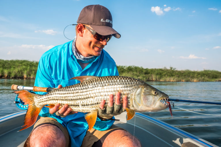 Tigerfishing at Ichingo Chobe River Lodge