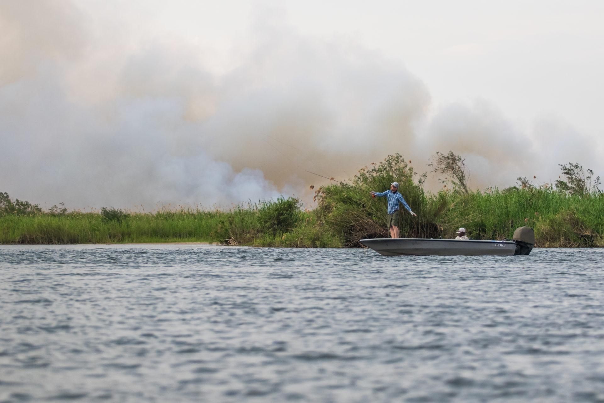 Tigerfishing on the Chobe