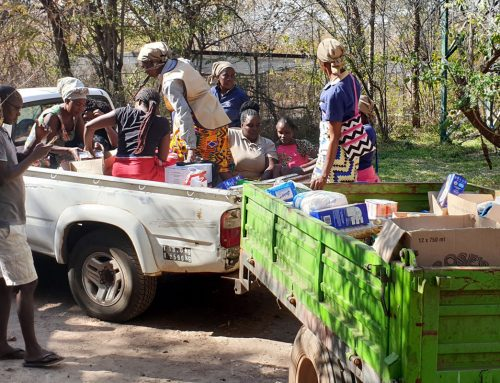 550 Food Parcels in a Time of Need